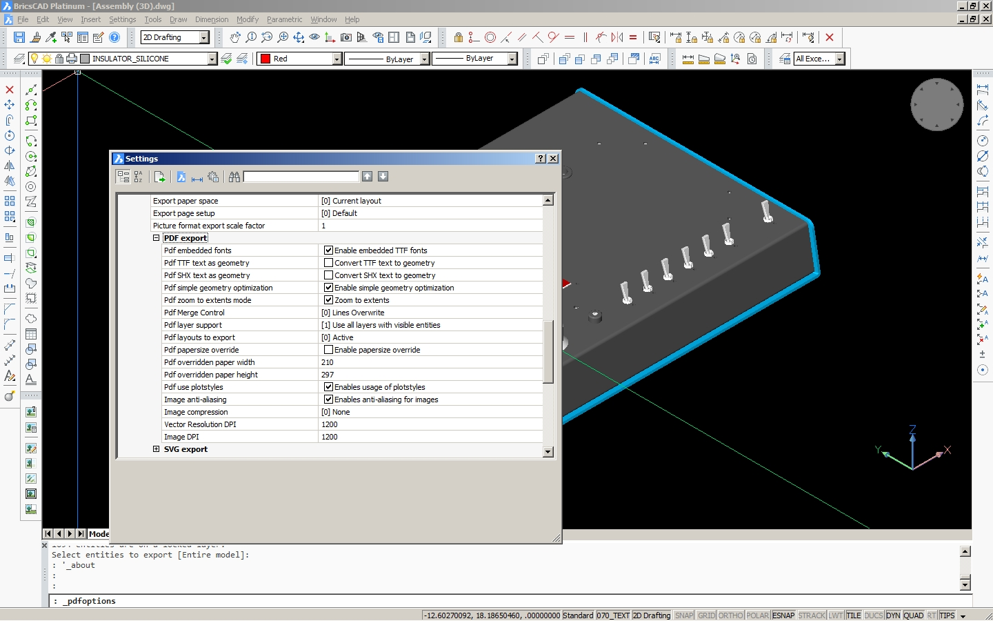 Export to 3D PDF - BricsCAD Forum