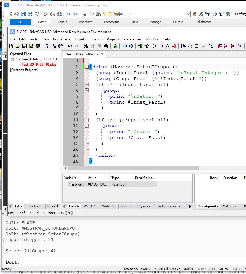Programação Lisp